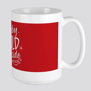 Baby It's Cold Outside [red] Mugs